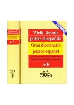 Wielki słownik polsko-hiszpański t.1/2 z suplementem