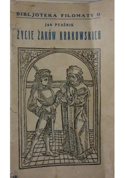Życie żaków krakowskich, ok. 1934 r.