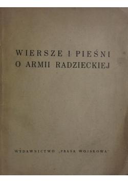 Wiersze i pieśni o Armii Radzieckiej ,1948r.