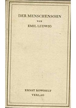 Der Menschensohn: Geschichte eines Propheten , 1928 r.