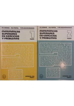 Matematicas Superiores En Ejercicios Y Problemas, Tom I-II