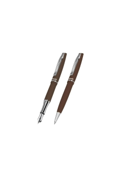 Pióro wieczne + Długopis Jazz Autumn (10szt)