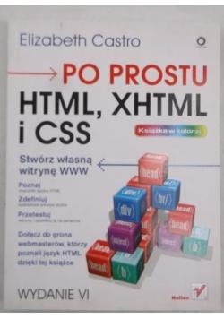 Po prostu HTML, XHTML, CSS