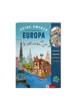 Atlas Świata Europa z estońską baśnią Zofii Staneckiej