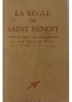La Regle de Saint Benoit, 1944 r.