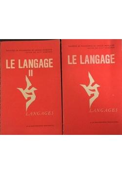 Le langage, Tom I-II