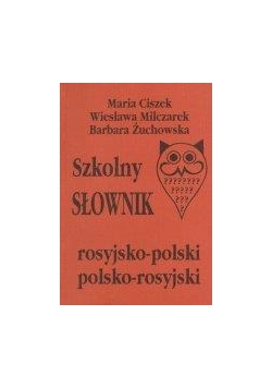 Szkolny słownik rosyj.-pol., pol-rosyj.  KRAM