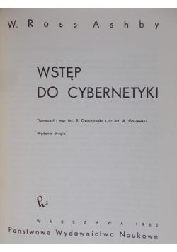 Wstęp do cybernetyki