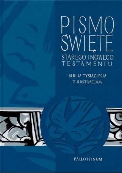 Biblia Tysiąclecia - ST i NT z ilustracjami
