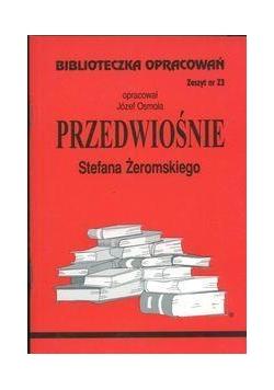 Biblioteczka opracowań nr 023 Przedwiośnie