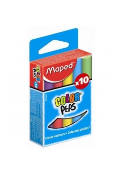 Kreda Colorpeps kolorowa 10 sztuk MAPED