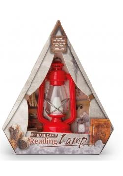 Lampka do czytania czerwona
