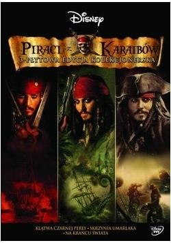 Piraci Z Karaibów. Kolekcja Trzech Filmów, DVD