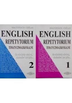 English. Repetytorium tematyczno - leksykalne, zestaw 2 książek