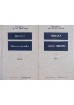 Historia naturalna, Tom I-II