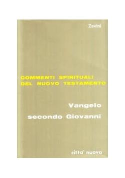 Commenti Spirituali Del Nuowo Testamento