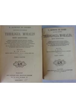 S. Alphonsi De Ligorio. Teologia Moralis. Tom I i III. ok 1884 r.