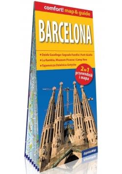 Barcelona 2w1 przewodnik i mapa