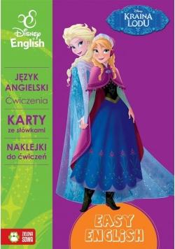 Disney English. Kraina lodu. Ćw. karty+naklejki