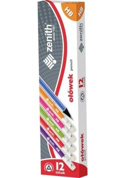 Ołówek grafitowy HB (12szt) ZENITH