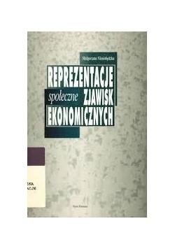 Reprezentacje społeczne zjawisk ekonomicznych