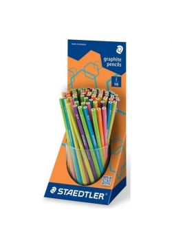 Ołówek Wopex Neon mix kubek (72szt)