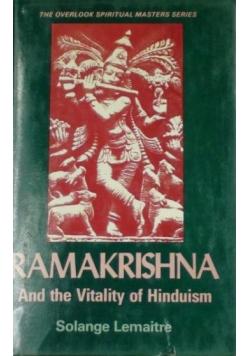 Ramakrishna. And the Vitality of Hinduism