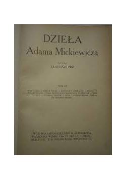 Dzieła Adama Mickiewicza, tom III