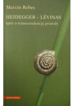 Heidegger-Levinas: Spór o transcendencję prawdy