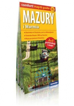 Comfort!map&guide XL Warmia i Mazury 2w1 1:200 000