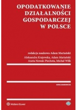 Opodatkowanie działalności gospodarczej w Polsce