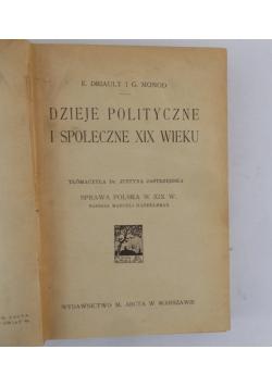 Dzieje polityczne i społeczne XIX wieku, 1918 r.