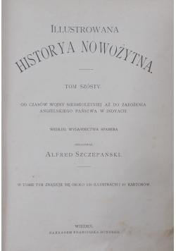 Dzieje powszechne ilustrowane, Tom VI, ok.1900r.