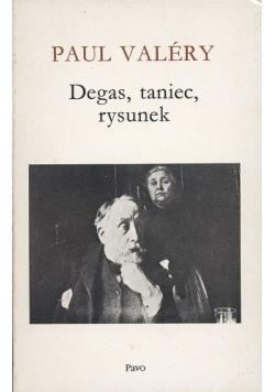 Degas, taniec, rysunek