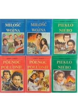 Miłość i wojna  tom I-II/Piekło i niebo tom I-II/Północ i Południe tom I-II