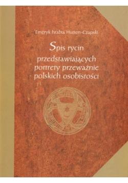 Spis rycin przedstawiających portrety przeważnie polskich osobistości