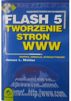 Flash 5. Tworzenie stron www + CD