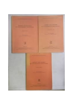 Papers and studies in contrastive linguistics, 3 tomy