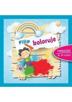 Filip koloruje