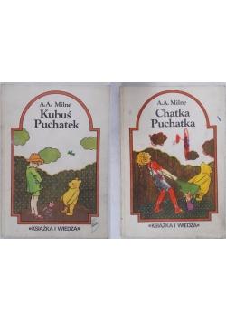 Zestaw 2 książek- Kubuś Puchatek/Chatka Puchatka