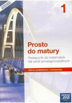 Matematyka LO 1 Prosto do matury Podr ZPR w.2015 , Nowa