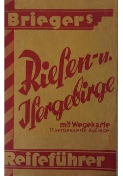 Fuhrer durch des Riesen und Isergebirge, 1921 r.