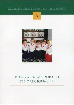 Biografia w edukacji etnoregionalnej