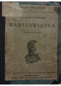 Warszawianka, 1930r.