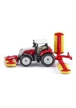 Siku 16 - Traktor Steyer z kosiarką S1672