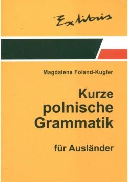 Zwięzła gramatyka polska dla cudzoziemców (wersja niemiecka)
