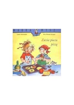 Mądra mysz - Zuzia piecze pizzę