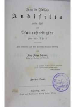 Duan de Kvila's zweiter cheil und Marienpredigten, 1861r.