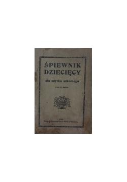 Śpiewnik dziecięcy, 1920r.