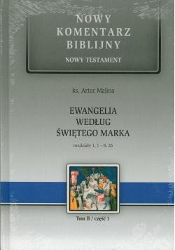 Ewangelia wg św. Marka cz.1 Rozdziały 1,1 - 8,26